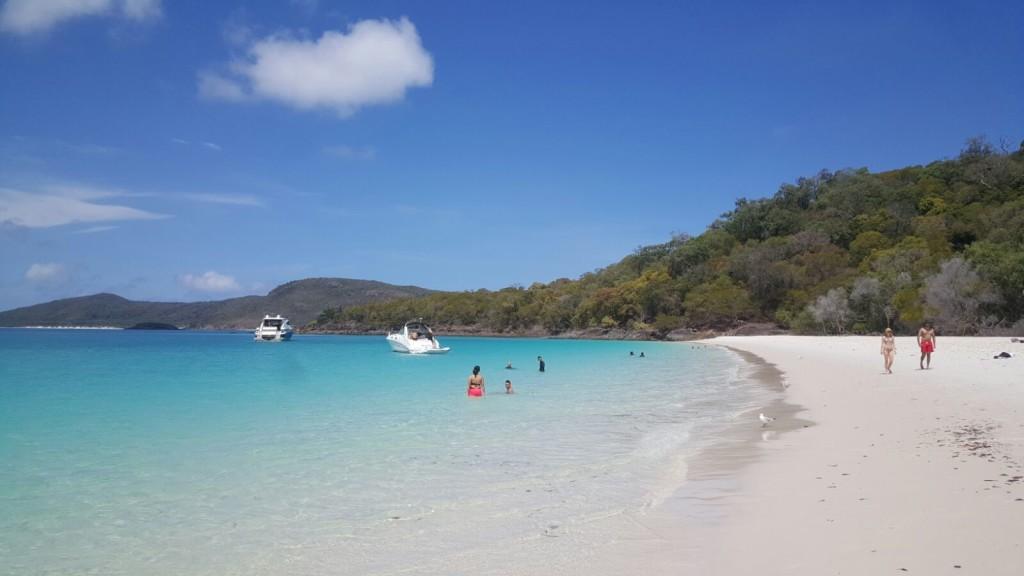 Mare stupendo. Prima di tuffarci nella barriera corallina.  Whitsundays Island, Queensland. Australia. Escursioni, informazioni emozioni (in volo e in mare)