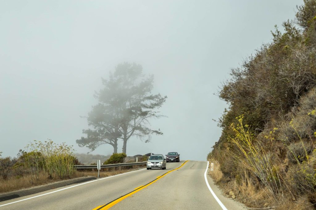 California: Big Sur, Highway 1. Lungo la splendida strada di Big Sur