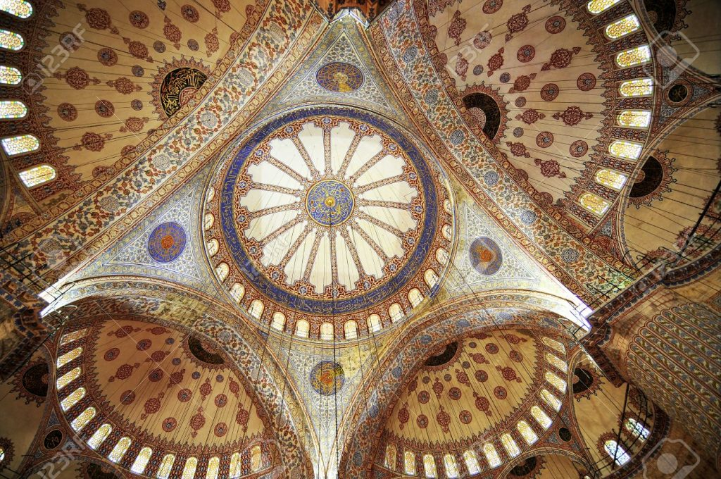 14392753-dome-the-Blue-mosque-in-Istanbul-Turkey-Stock-Photo