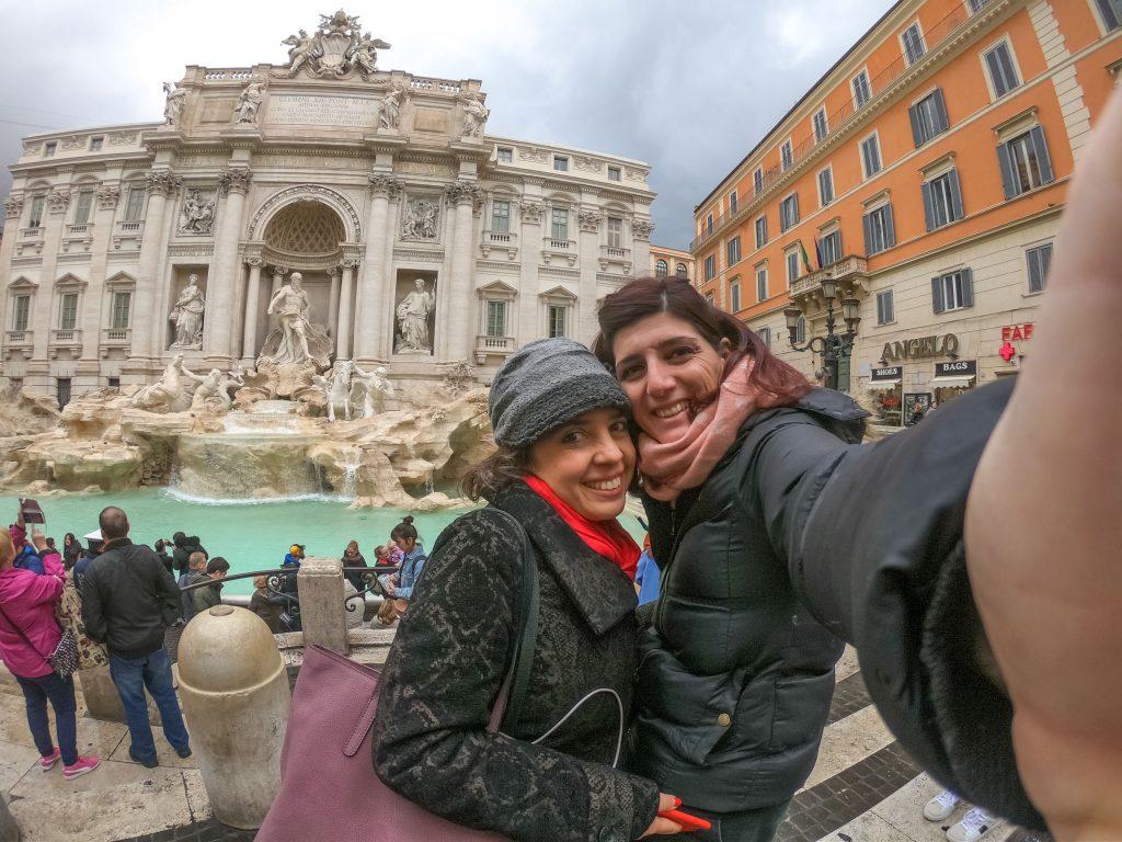 tappa classica alla Fontana di Trevi
