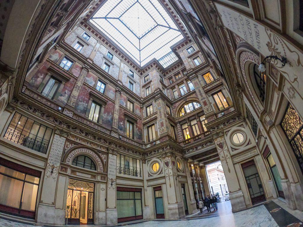 Galleria Sciarra - Passaggio Liberty