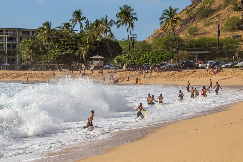 Una spiaggia nella zona Ovest di Oahu - Non turistica ma bellissima. Polinesia Francese o Hawaii: il post definitivo su come scegliere la meta giusta per il tuo viaggio