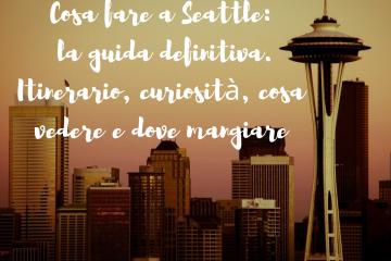Pre incontri Seattle