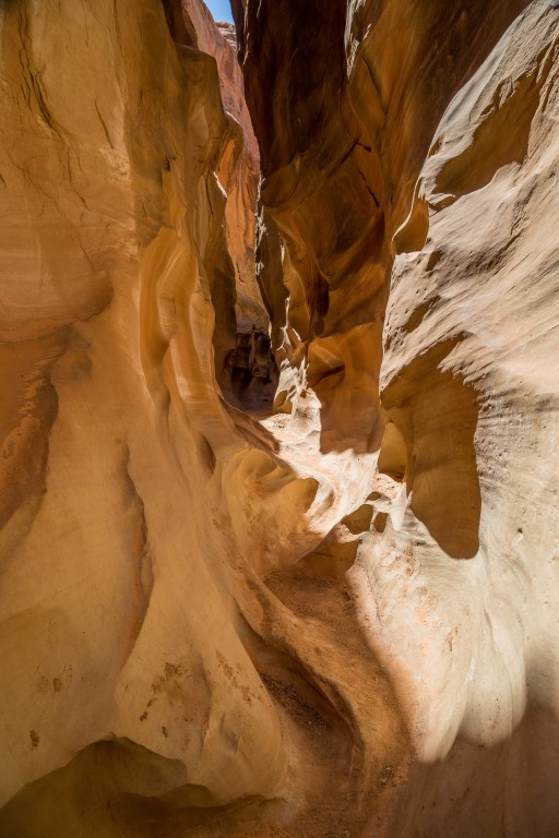 Dry Fork. Peek-a-Boo Slot canyon, Spooky Gulch e Devils Garden: le tappe più belle lungo la Hole in The Rock Road