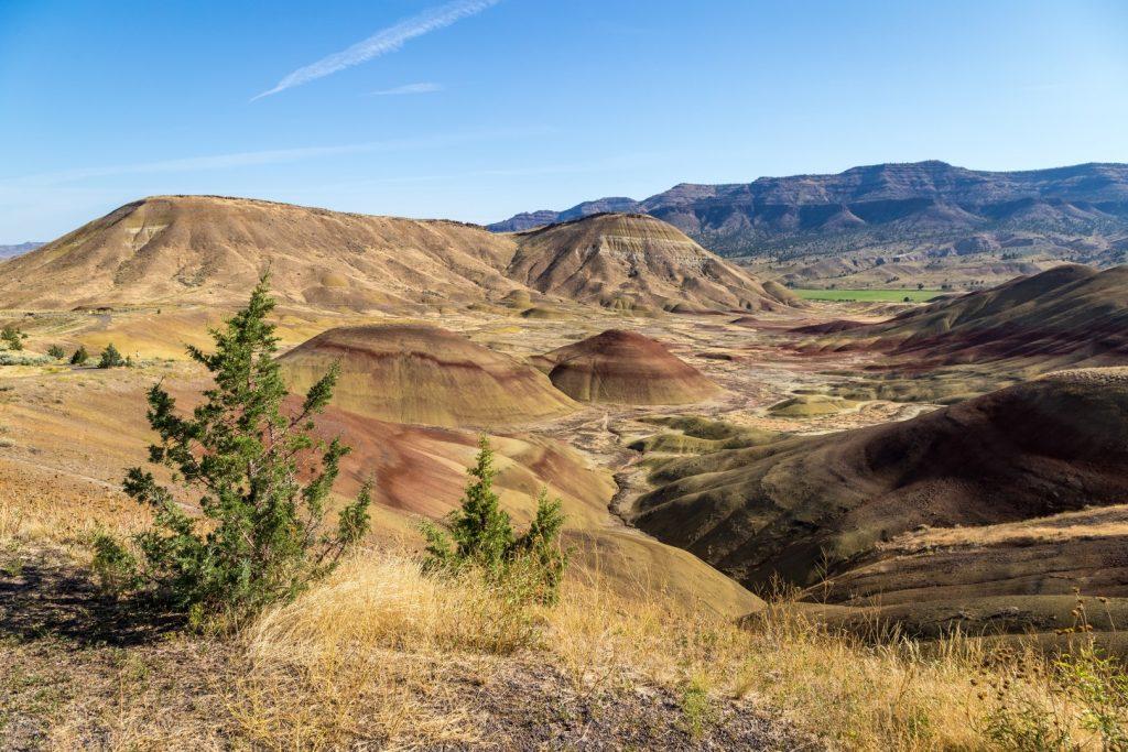 Painted Hills. Oregon Centrale: montagne, laghi e deserti. Smith Rock State Park, Crater Lake e Painted Hills [itinerario e informazioni]