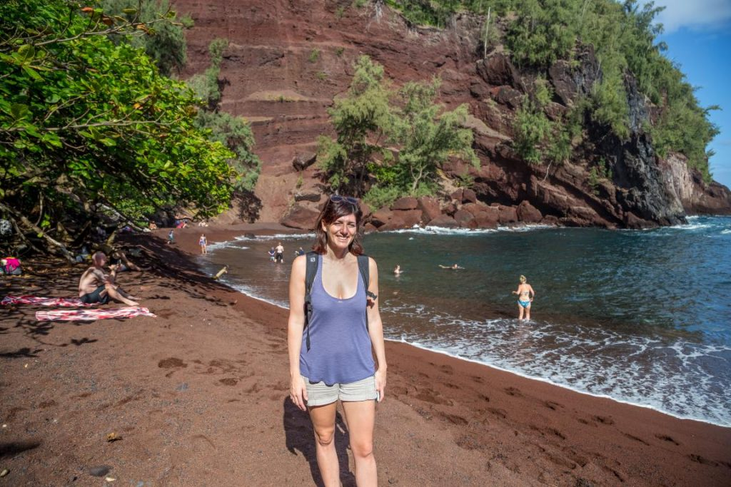 Kaihalulu Beach: Red Sand Beach – Spiaggia Rossa, Maui - Hawai'i: le spiagge colorate, dove trovarle e informazioni utili